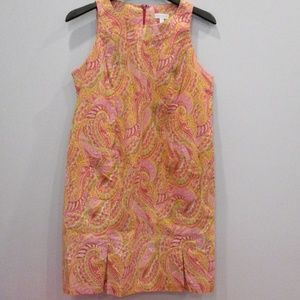 A Pea In The Pod Maternity Dress Large Paisley